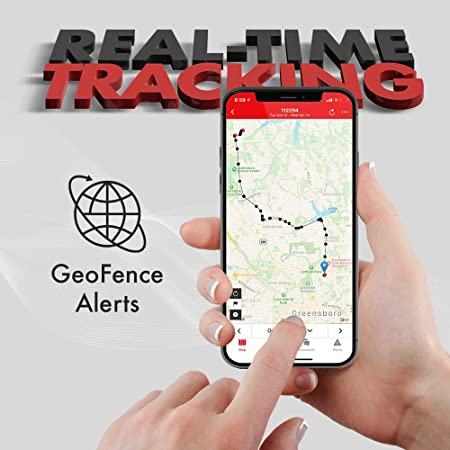 Magnetic Waterproof Case Logistimatics 4G Pocket Tracker for Vehicles Cars Family Tiny GPS Tracker with 30 Second Location Updates and Real-time Tracking