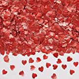 Natural Edible GMO Sugar Nuts Gluten Soy Free Glitter Heart (Red) Review