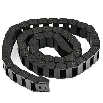 YOTINO Cadena de arrastre para enrutamiento de cables Cadena de arrastre de cable Cadena de energía de alta calidad Cadena de arrastre para impresora ...