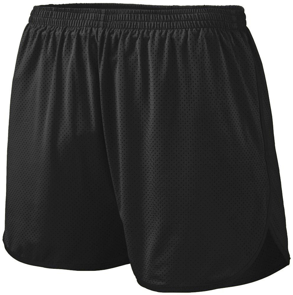 Augusta Sportswear Boys ' Solid Split Short B00HLFP2TQ Large|ブラック ブラック Large