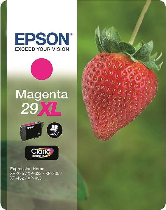 Epson Original 29xl Tinte Erdbeere Xp 235 Xp 332 Xp 335 Xp 432 Xp 435 Xp 245 Xp 342 Xp 345 Xp 442 Xp 445 Xp 247 Xp 257 Xp 255 Xp 352 Xp 355 Xp 452 Xp 455 Magenta Bürobedarf Schreibwaren