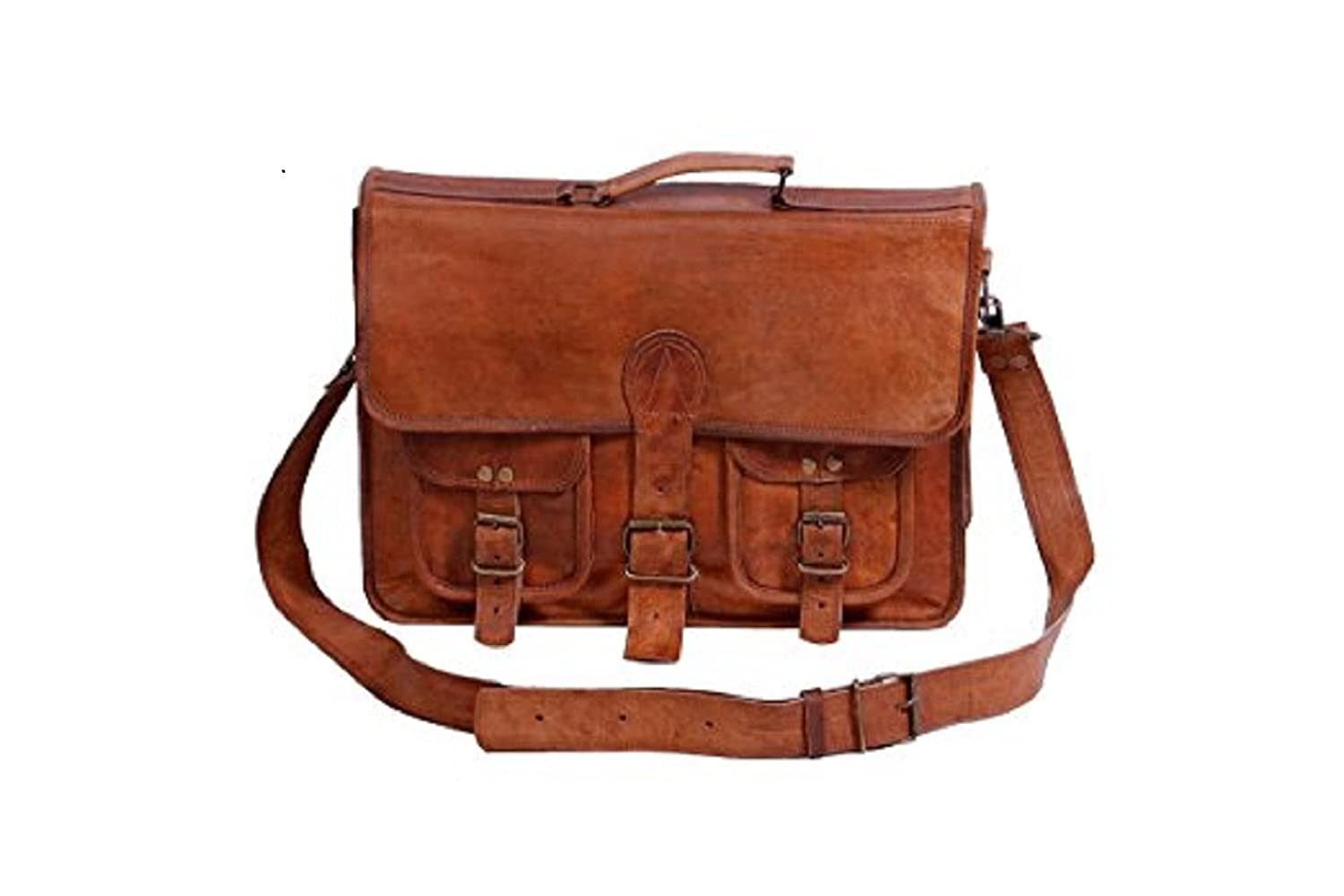 98834ad6540e Mk Bags vintage bags genuine leather messenger, Laptop bag cum office bag  563: Amazon.in: Bags, Wallets & Luggage