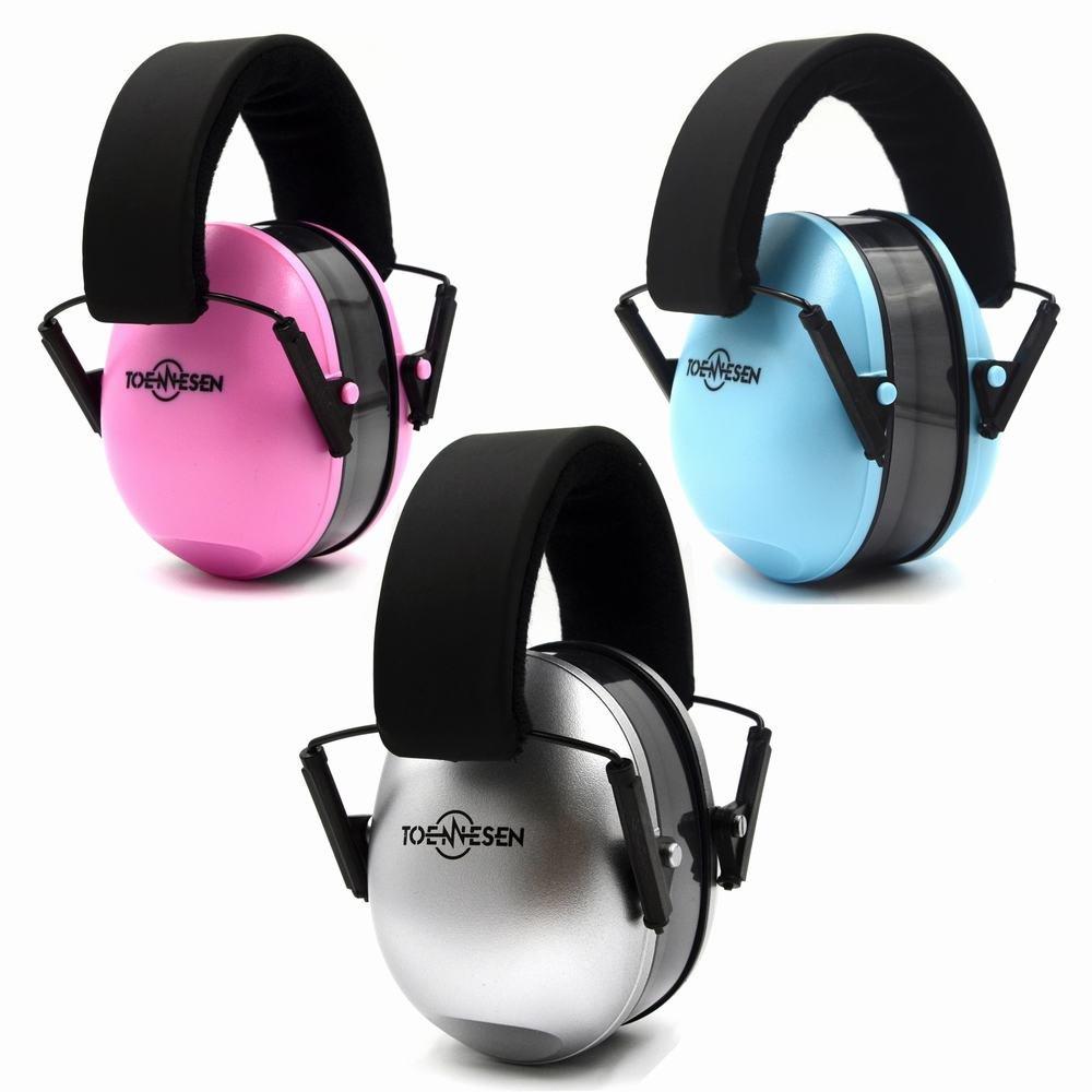 Protectores de oído orejeras de seguridad para 0 - 2 Años Kids/bebé/niños auriculares ajustable audiencia Protector con suave almohadillas cancelación de ...