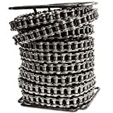 60H Heavy Duty Roller Chain 50 Feet with 5 Connecting Links