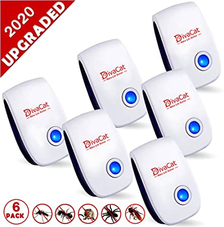 Plug-In Mouse//Rat//Mosquito//Rodent Repeller Ultrasonic Repellent Pest Deterrent
