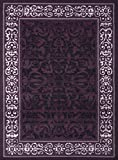United Weavers of America Dallas Baroness Rug, 5 x 8', Plum