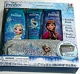 Disney Frozen Bath Basics Set with Zippered Toiletry Bag