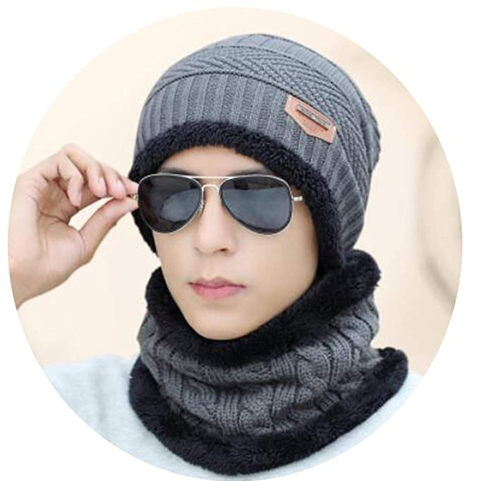 Amazon.com: Winter Women Mens Skullies Wool Knitted ...