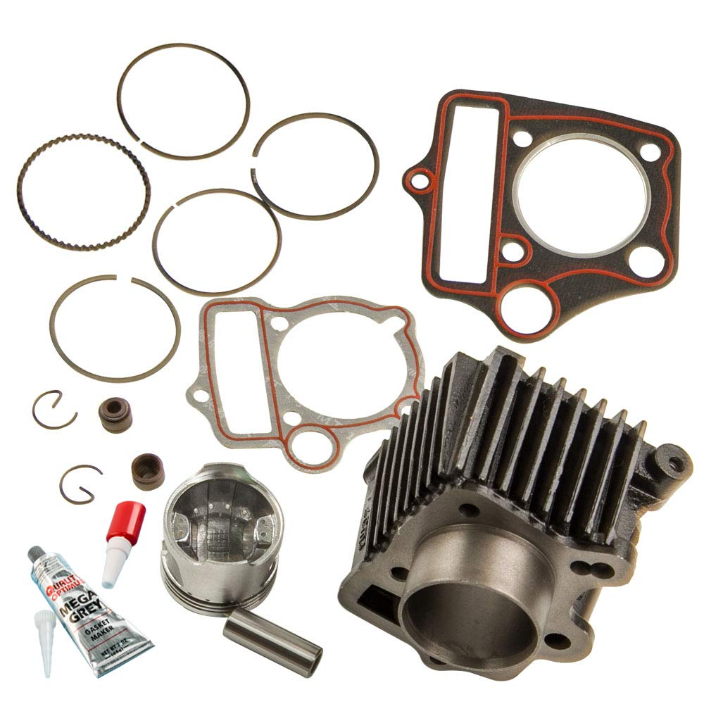 70cc Cylinder Piston Kit for Honda ATC70 CRF70 CT70 C70 TRX70 XR70 S65 MSR US by Tuningsworld