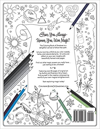 Counting Number worksheets math addition coloring worksheets : Coloring Book of Shadows: Amy Cesari: 9781539502630: Amazon.com: Books