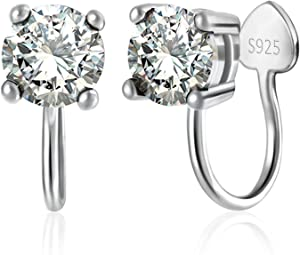 Sweepstakes: OwMell Sterling Silver s925 Ear Cuff Cubic...