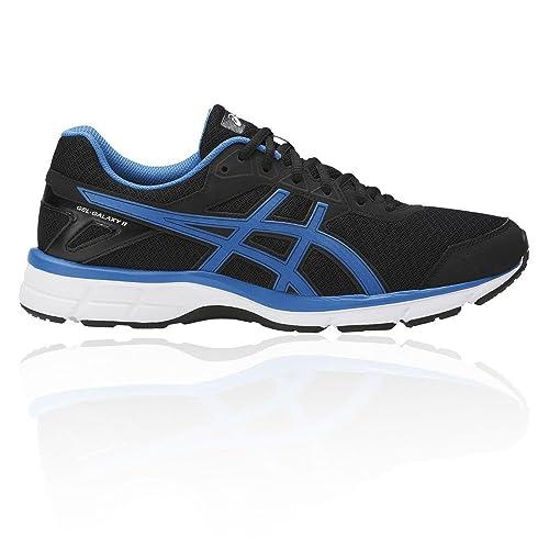 Asics Uomo Blu Gel Galaxy 9 Scarpe Da Corsa Ginnastica Stringate Sport Sneakers