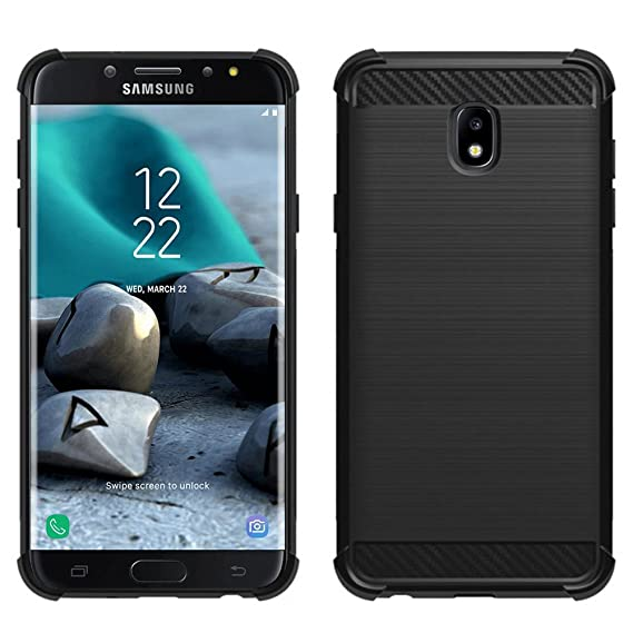 Samsung Galaxy J3 2018/J3 V 3rd Gen/J3 Eclipse 2/J3 Orbit/J3 Achieve/J3  Express Prime/J3 Prime 2/J3 Emerge 2018/Amp Prime 3 case, PUSHIMEI Soft TPU
