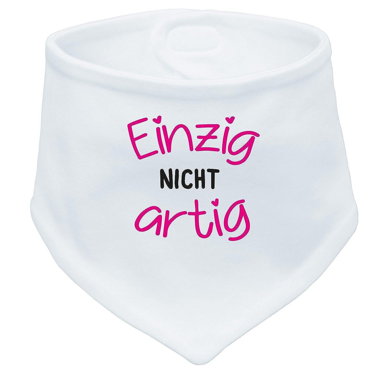 Baby Halstuch ICH DEKORIERE! Angry Shirts ICH KLECKER NICHT