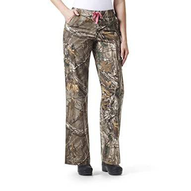 5e509f1e81c99 Amazon.com: Carhartt Realtree Women's Utility Print Scrub Pant Plus Size,  Xtra, 3X-Large: Clothing