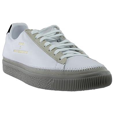 PUMA Unisex Puma x Han Kjobenhavn Basket Stitched Sneaker Puma  White Drizzle 11.5 D US 236b9387d