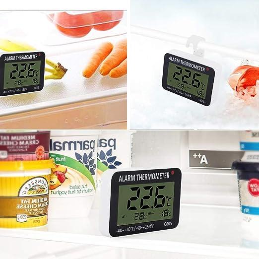 Termómetros para refrigerador, Medidor de temperatura para ...