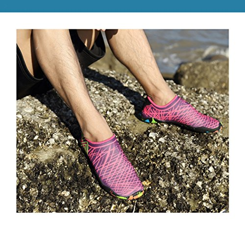 Shoes Shoes Flat Seaside Dovaly Summer Pink Soft Water Outdoor Beach Diving Unisex Hot xAvqAIF