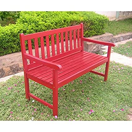 Prime International Caravan Vf 4110 Red Ic Furniture Piece Outdoor 4 Foot Wood Bench Dailytribune Chair Design For Home Dailytribuneorg