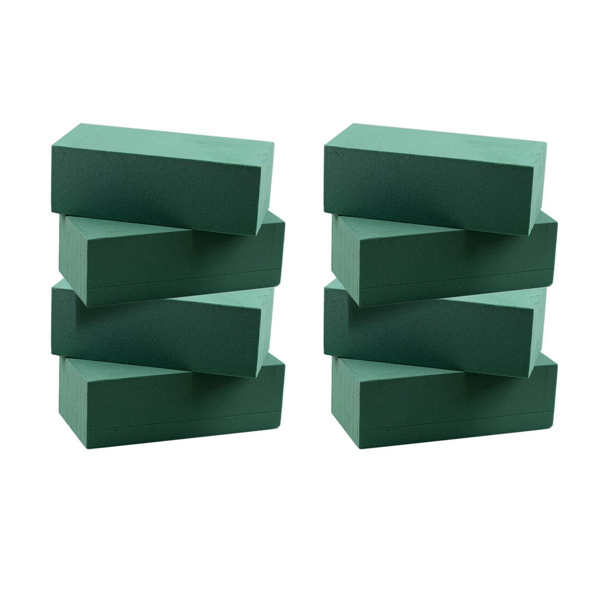 8 pezzi floreale Dry Wet Foam Block Styrofoam Block for Fresh Cut composizioni floreali Yeenee