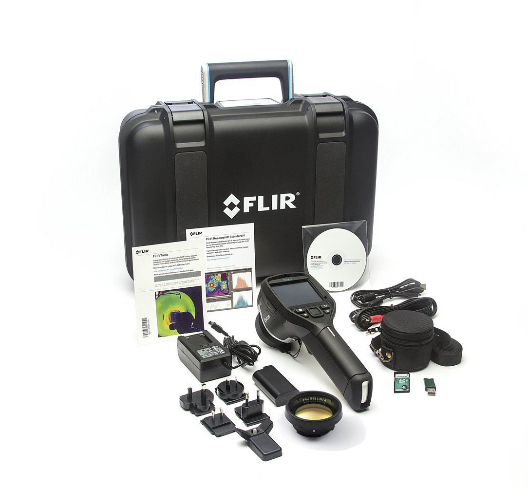 FLIR E40bx Compact Thermal Imaging Camera with 160 x 120 IR Resolution, MSX and 15 Degree Lens (Discontinued by Manufacturer)