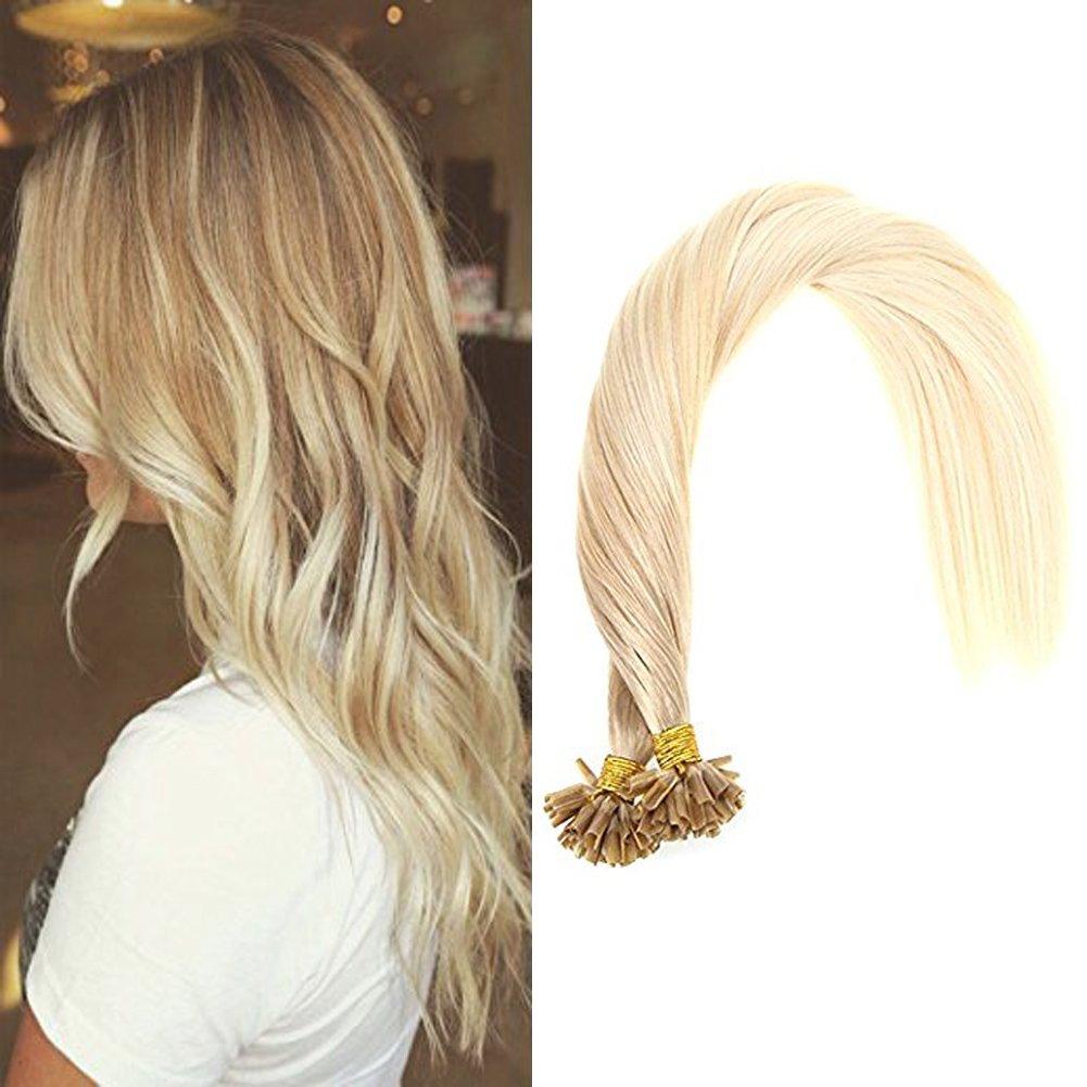 Amazon Vesunny 18inch Balayage U Tip Extensions Fusion Hair