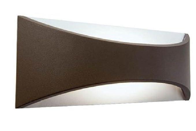 Lampada applique piccola riflettente 6w a led cob colore marrone per