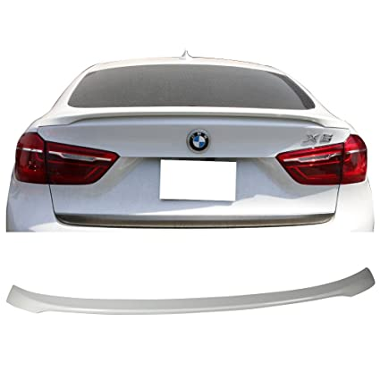 4995984de284 Amazon.com  Pre-Painted Trunk Spoiler Fits 2015-2018 BMW F16 X6 F86 ...