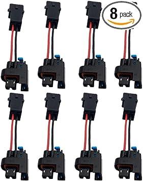 Amazon.com: ALLMOST 8PCS FOR Compatible with LQ4 LQ9 4.8 5.3 6.0 Delphi  Injectors into LS1 LT1 EV1 wiring Harness Connectors: AutomotiveAmazon.com