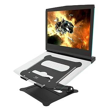 SAVFY Soporte Portátil Ordenador Tablet Multifuncional Plegable Soporte Tablet para Apple MacBook, MacBook Pro,