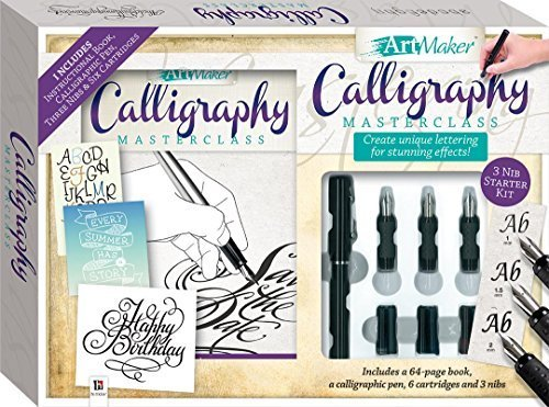 Calligraphy Master Class Book & Kit: Create Unique Lettering For Stunning Effects by Hinkler
