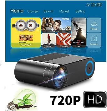 Portátil Proyector Pantalla de 150 Soporte 1080p Proyector 3000 ...