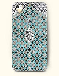 diy phone caseSevenArc Apple iPhone 5 5S Case Moroccan Pattern ( aqua and White Hexagon )diy phone case