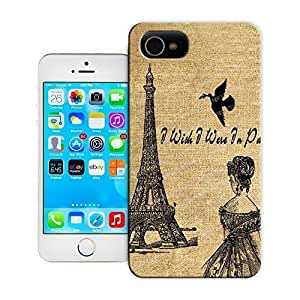 THYde Unique Phone Case Sketch hand painted Lady Birds Eiffel Tower Hard Cover for iPhone 6 plus 5.5 cases-buythecase ending