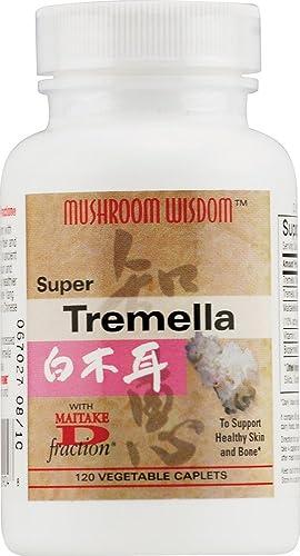 Mushroom Wisdom Super Tremella Mushroom Wisdom Formerly Maitake Products 120 Veg Tablet