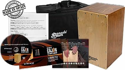 Granada Drum 992018 - Cajón: Amazon.es: Instrumentos musicales