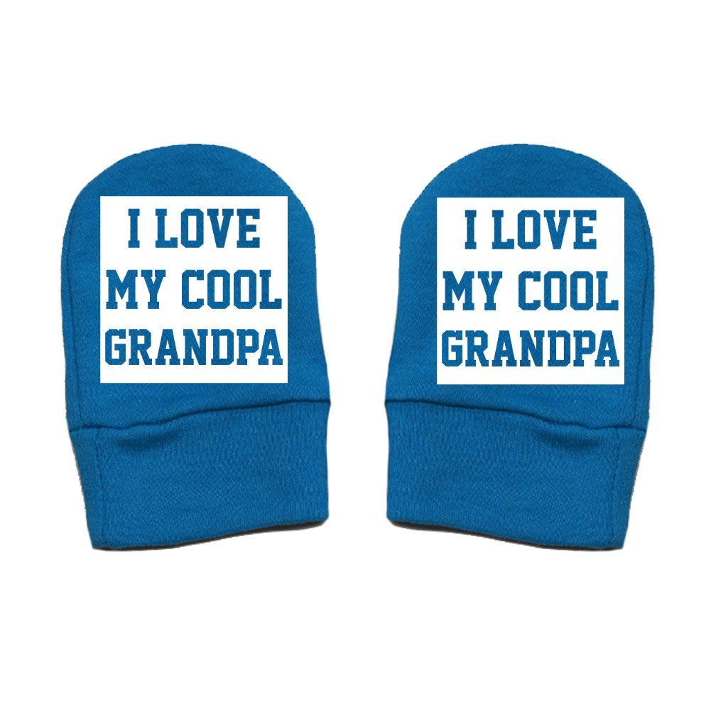 I Love My Cool Grandpa Thick Premium Thick /& Soft Baby Mittens Mashed Clothing Unisex-Baby Square Block - Fun /& Trendy