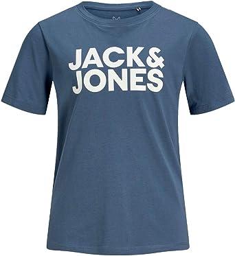 JACK&JONES 12152730 Logo tee Camisetas Y Camisa DE Tirantes Boy Denim 8Y: Amazon.es: Ropa y accesorios