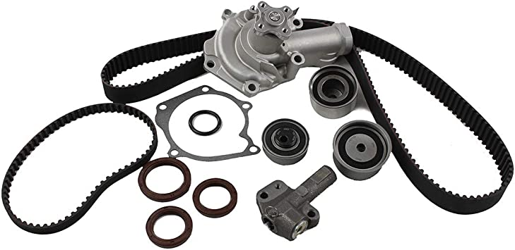 DNJ ENGINE COMPONENTS TBK123WP Timing Belt Water Pump Kit with Hydraulic Tensioner