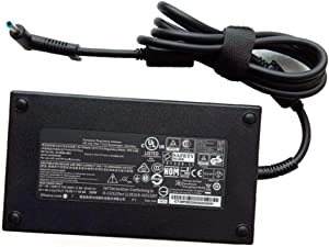 Genuine 19.5V 10.3A 200W TPN-CA03 815680-002 AC Power Adapter Charger for HP Omen 15-CE009NL 15-CE009TX ZBook 17 G3 608431-002 609945-001 HSTNN-CA16 HSTNN-DA16 Laptop Power Supply AC Cord