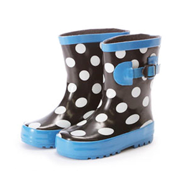 NOBRAND no Brand Kids Rubber rain Boots 17cm 20.RED