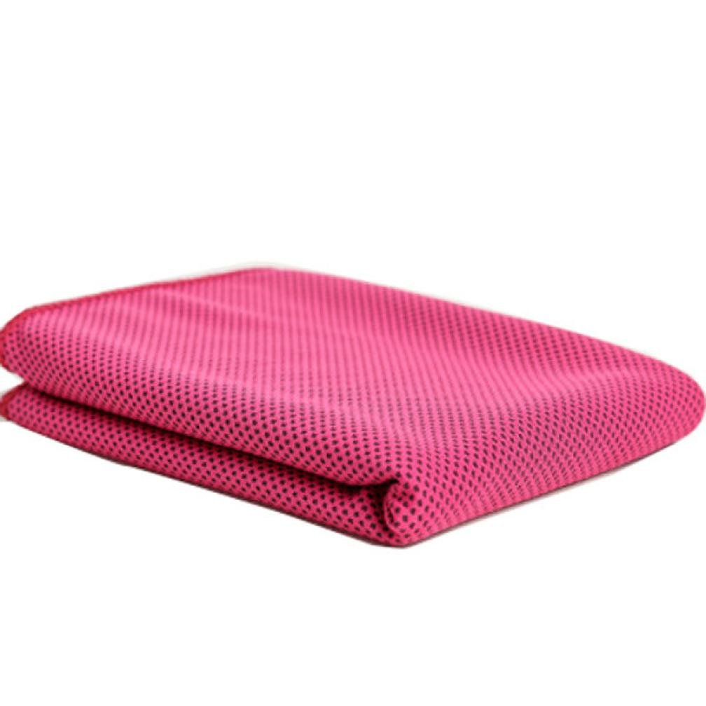 Bath Towels,Quick Dry-Absorbent- Cold Sensation Beach towel Travel Sports Swiming Bath body Towel Yoga Mat (HOT)