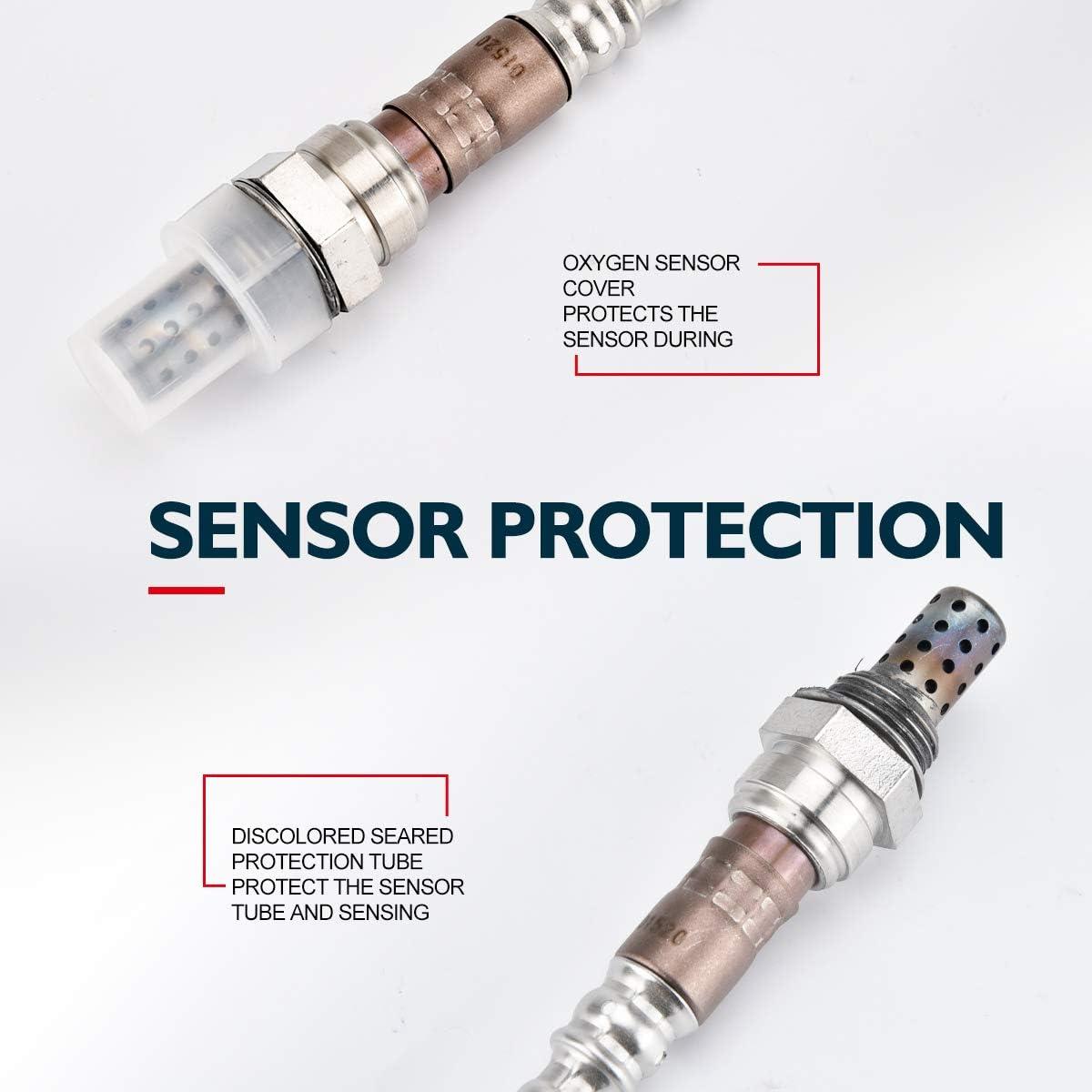 Honda Accord//Civic//Odyssey Original Equipment Replacement 250-24011 O2 Sensor Up//Downstream Compatible for Acura CX//NSX//Intrgra KAX SG336 Oxygen Sensor