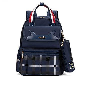 Mochilas escolares para niños, impermeables y fáciles de llevar para hombres y mujeres, color h M: Amazon.es: Oficina y papelería