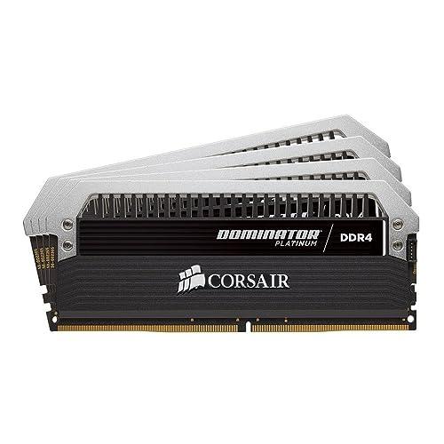 Corsair Dominator Platinum Módulo de Memoria XMP 2 0 de Alto Rendimiento de 64 GB 4 x 16 GB DDR4 2400 MHz C14