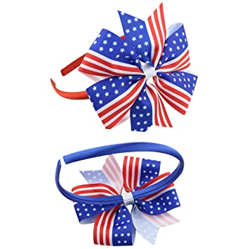 Amazon.com   BinaryABC 4th of July Headband 04a5df1e56b5