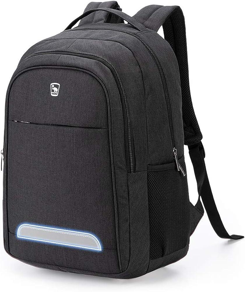 OIWAS 14 Inch Laptop Backpack For Boy School Bookbag Teen Women Daypack 20.5L Large Capacity Men Travel Business Bag