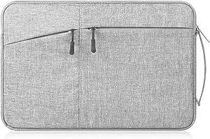 "Cecety TM Canvas Laptop/Tablet Sleeve Handbag for Samsung 12.2""Chromebook Plus/Galaxy Book 12/11.6"" Chromebook 3 / XIDU PhilBook/Google Pixel Slate/Pixelbook/Acer Chromebook 11 (Light Grey)"