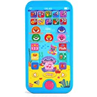 WowWee Pinkfong Baby Shark Mini Tablet - Educational Preschool Toy, Multicolor