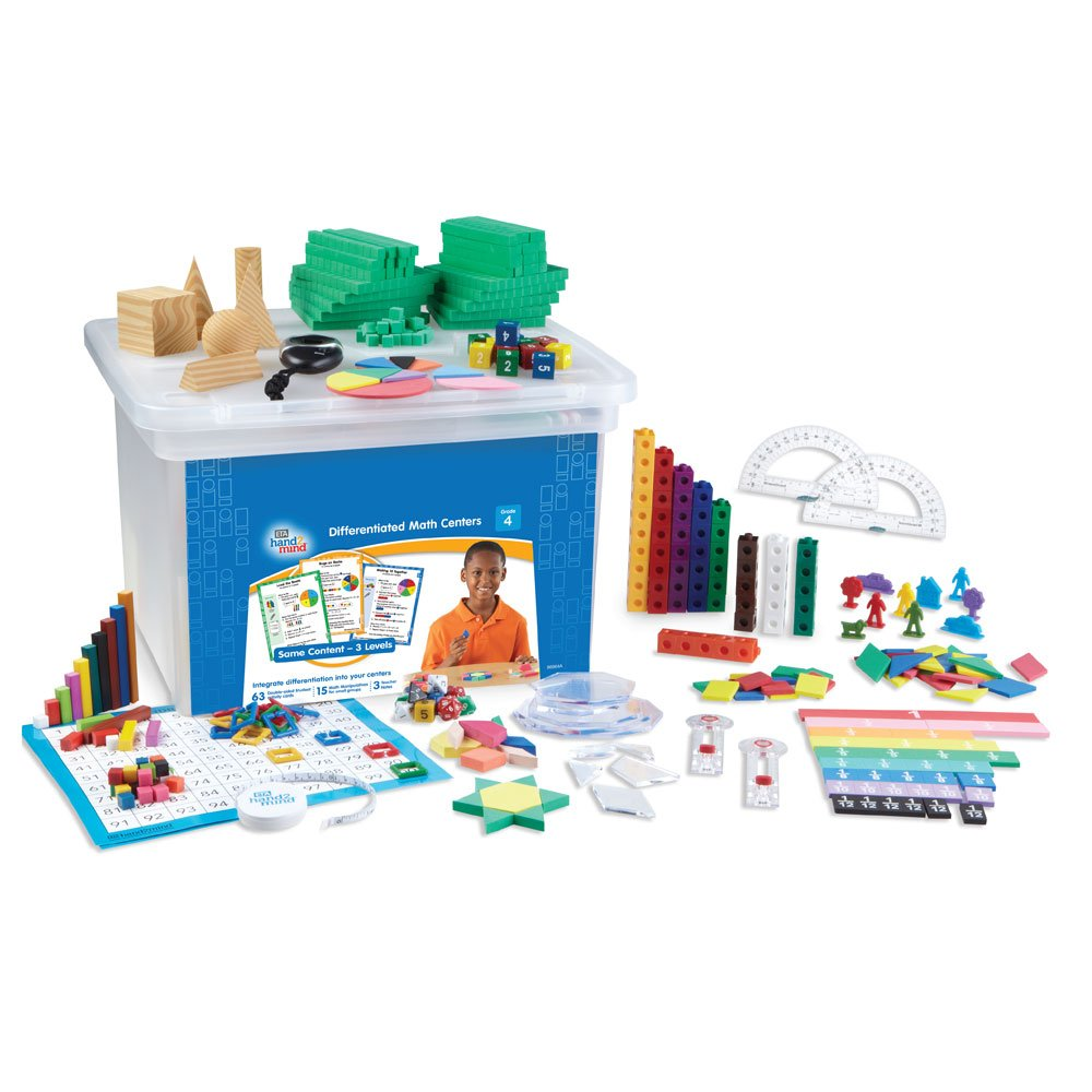 Differentiated Math Center Classroom Kit - Grade 4
